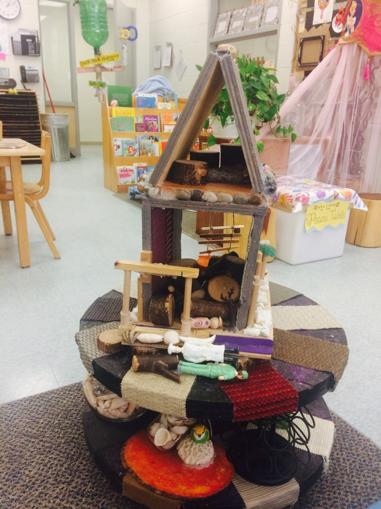 Every detail of their space was co-created with the children, making buildings like this house so special!