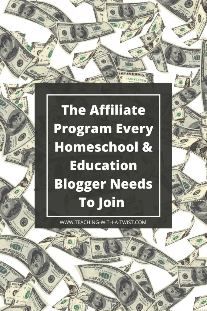 Looking for a high quality education affiliate program to add to your homeschool, education or mom blog? Sign up for this!