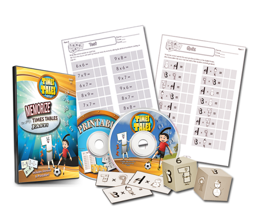 Times Tales Memorize Multiplication DVD