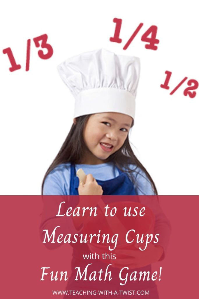 Cooking is an important life skills. The Top of the Quart game is a fun, hands-on activity that teaches children how to use measurements in cooking.