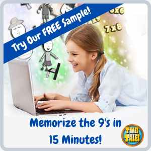 Free Sample - Memorize the Times Tables