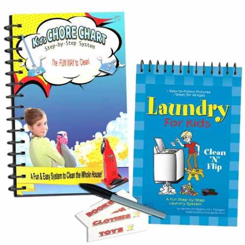 Kids Chore Chart and Laundry