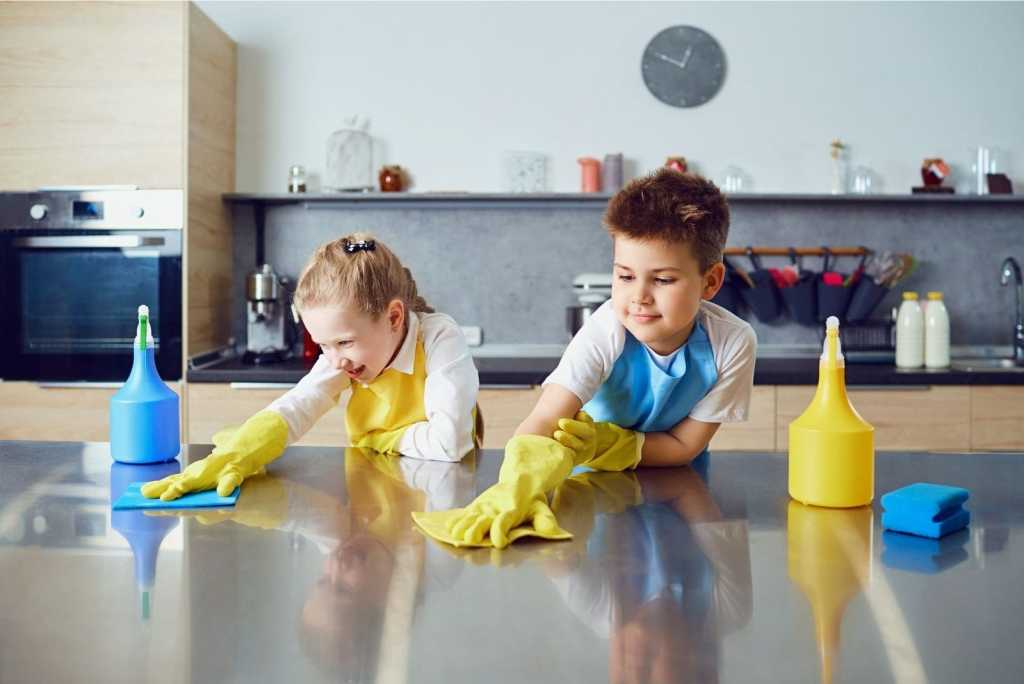 Kids Chore Chart Learn How to Clean
