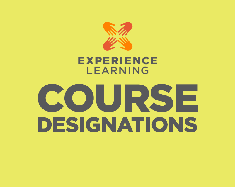 Experience Learning Course Designations