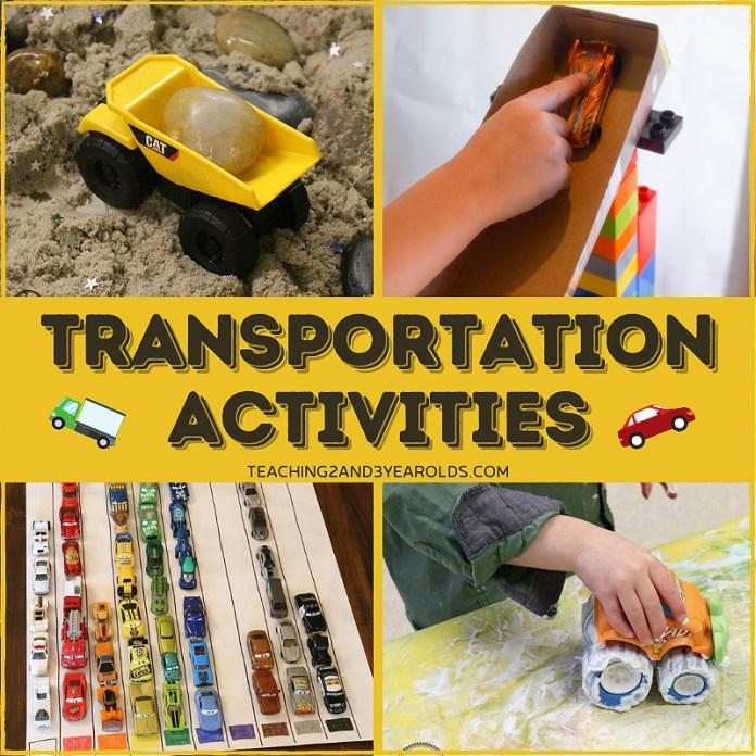 30+ of the Best Transportation Theme Ideas
