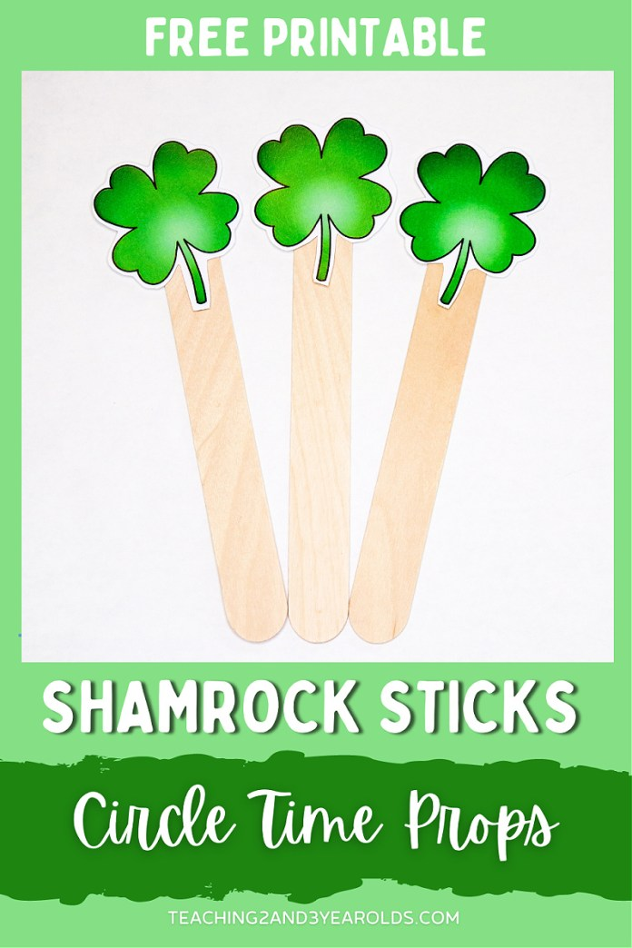 Printable St. Patrick's Day Circle Time Props