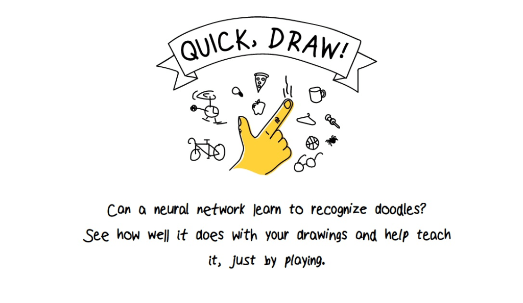 AI with Quick,Draw! by Google