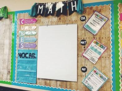 Math Focus Wall