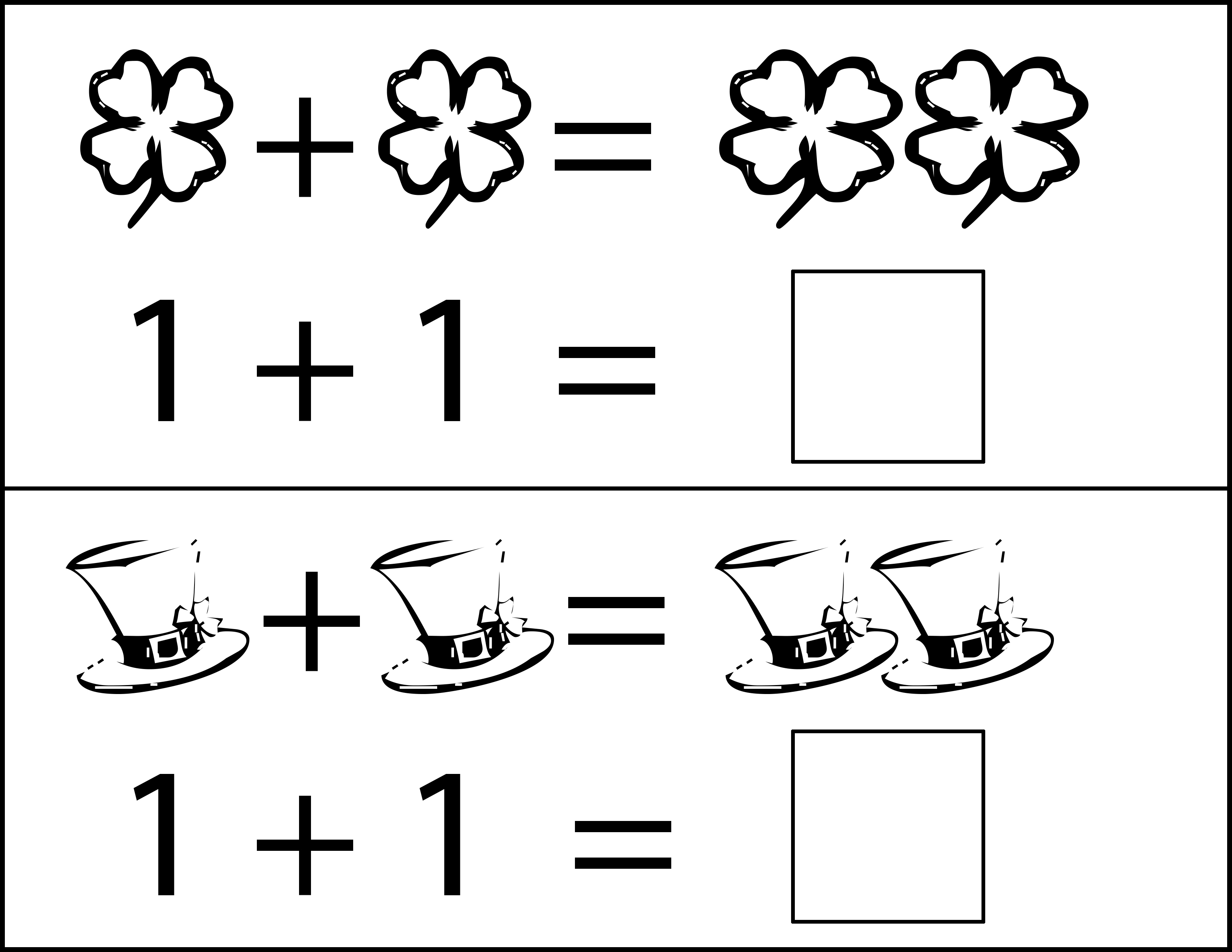 St Patrick S Day Addition Worksheets