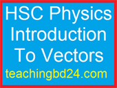 HSC Physics Introduction To Vectors 1