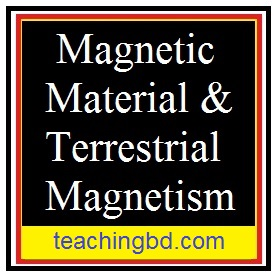 Magnetic Material & Terrestrial Magnetism 1