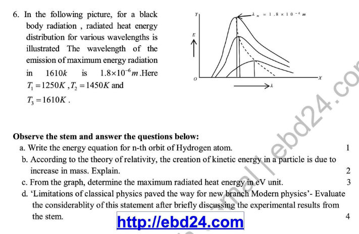 English Version Physics Suggestion and Question Patterns of HSC Examination 2014 (3)
