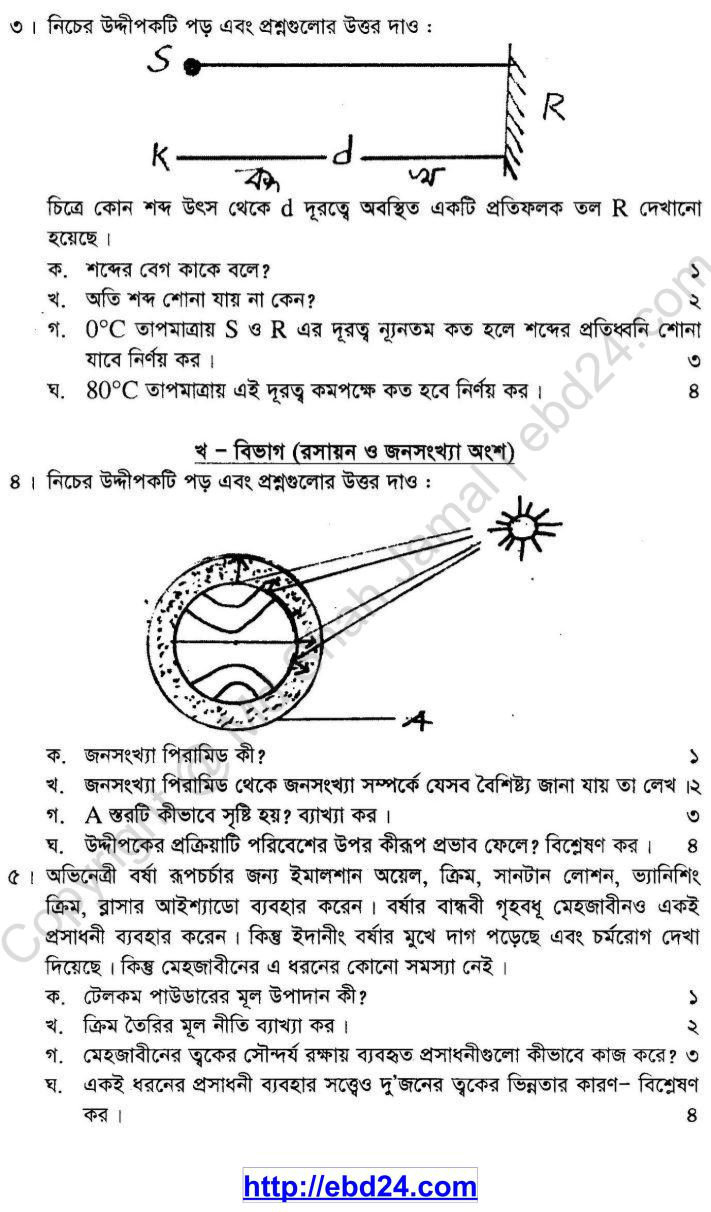 General Science Suggestion and Question Patterns of SSC Examination 2014 (2)