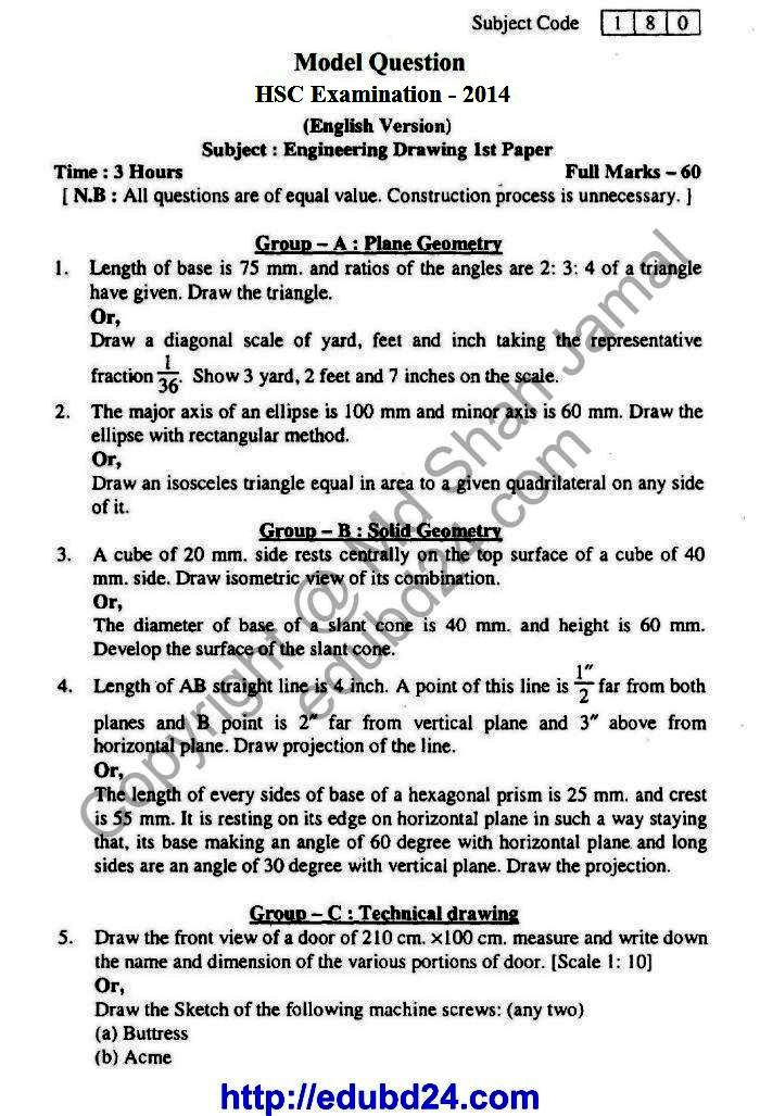 Engineering Drawing Eng 31114 (1)