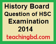 History Board Question of HSC Examination 2014