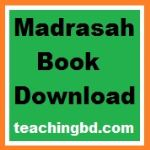 All Classes Madrasah PDF Textbooks Free Download