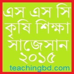Agriculture Suggestion and Question Patterns of SSC Examination 2015-1 1
