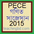 Mathematics Suggestion and Question Patterns of PECE Examination 2015