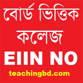 Board Wise College EIIN Number for HSC Admission 2019 2