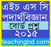 Physics 2nd Paper Question 2015 Dhaka Board