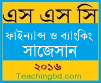 Finance & Banking Suggestion and Question Patterns of SSC Examination 2016