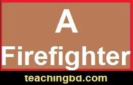 AFirefighter