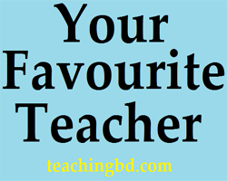YourFavourite-Teacher