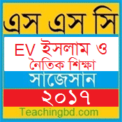 EV Islam and moral Education Suggestion and Question Patterns of SSC Examination 2017-1