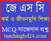 JSC Work and life-oriented education MCQ Question With Answer 2019