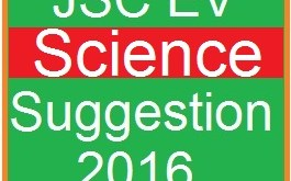 EV Science Suggestion and Question Patterns of JSC 2016-5