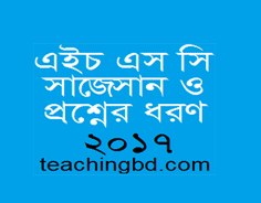 Suggestion and Question Patterns of HSC Examination 2017