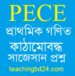 PECE Mathematics Structured questions and answer suggestion 2020