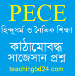 PECE Hindu Religion and Moral Education Structured questions and answer suggestion 20PECE Islam and Moral Education Structured questions and answer suggestion 2020