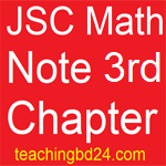JSC Math Note2 3rd Chapter Measurement 1