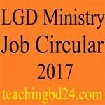 LGD Ministry Job Circular 2017 1