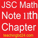 JSC Math Note 11th Chapter Information and Data 1