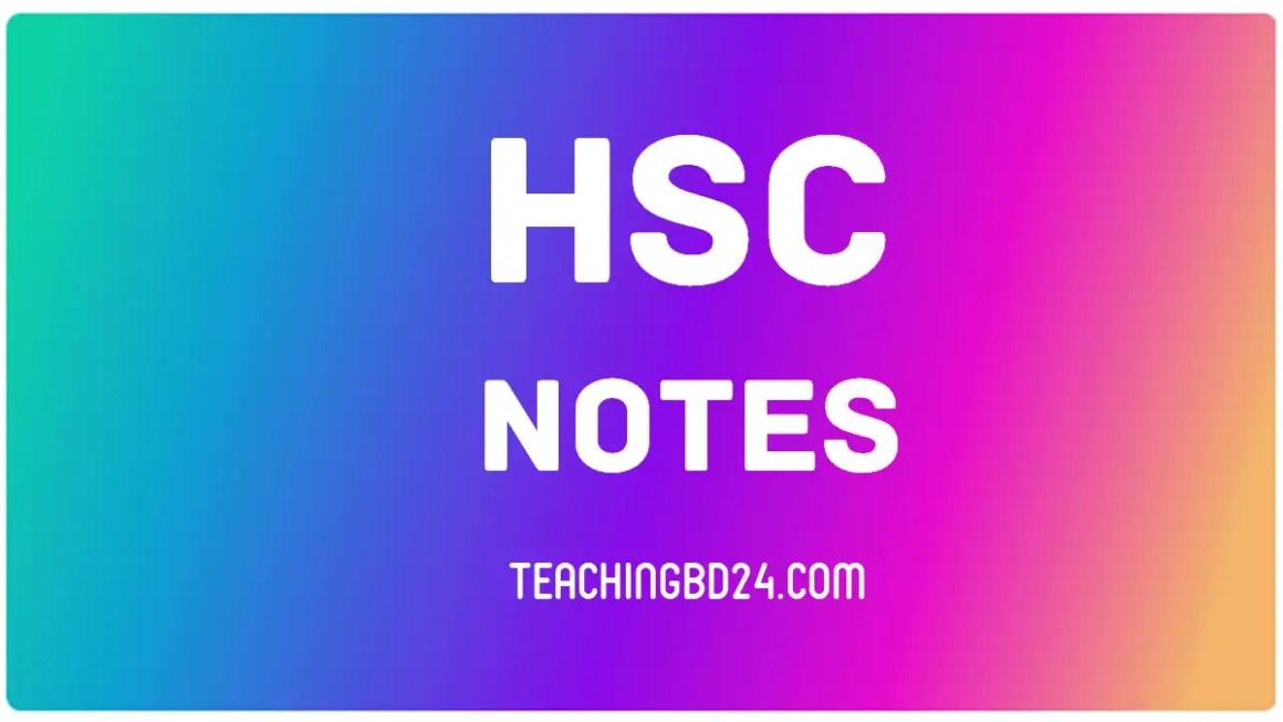 HSC Notes 2