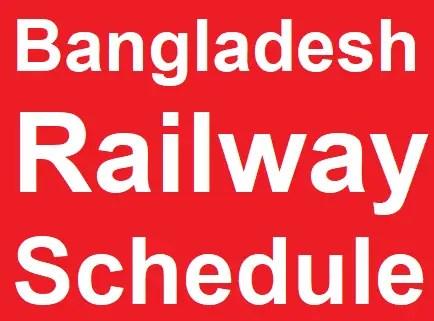 Bangladesh Railway Schedule 1