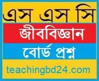 SSC Biology Board Question Dhaka Board 2017
