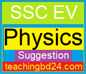 SSC EV Physics Suggestion and Question Patterns of SSC 2019-4 1