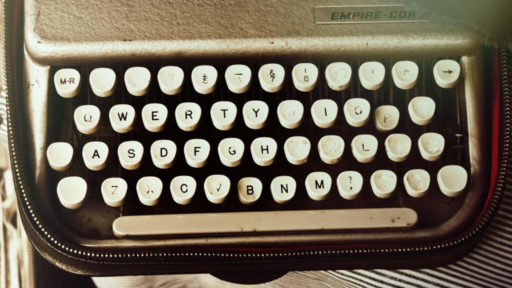 Antique typewrite