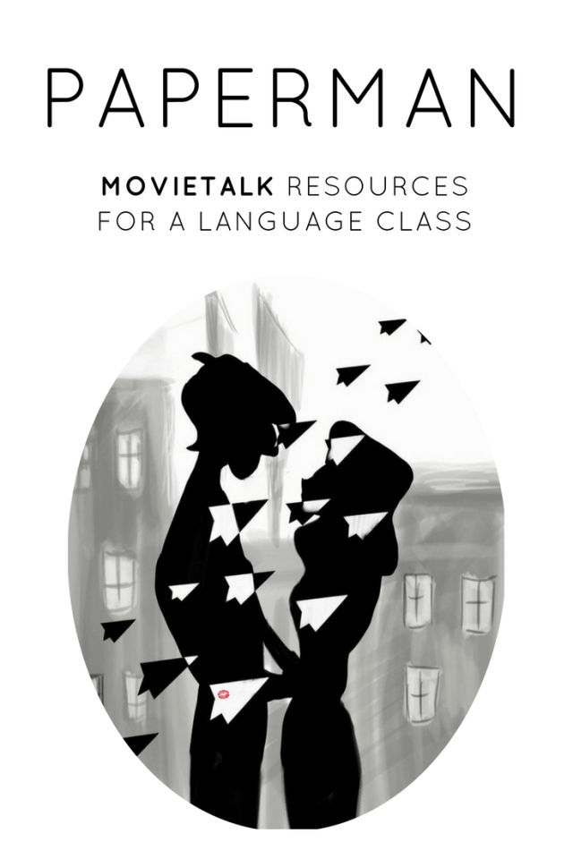 Want MovieTalk resources for Paperman in your TPRS or TCI classroom?