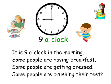 9o'clock