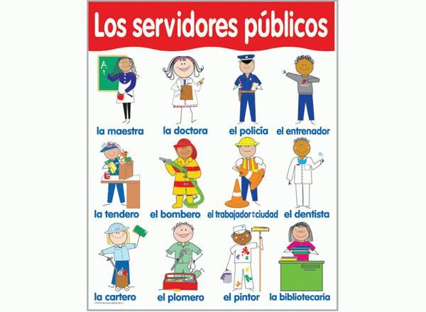 servicios públicos colouring pages page 3