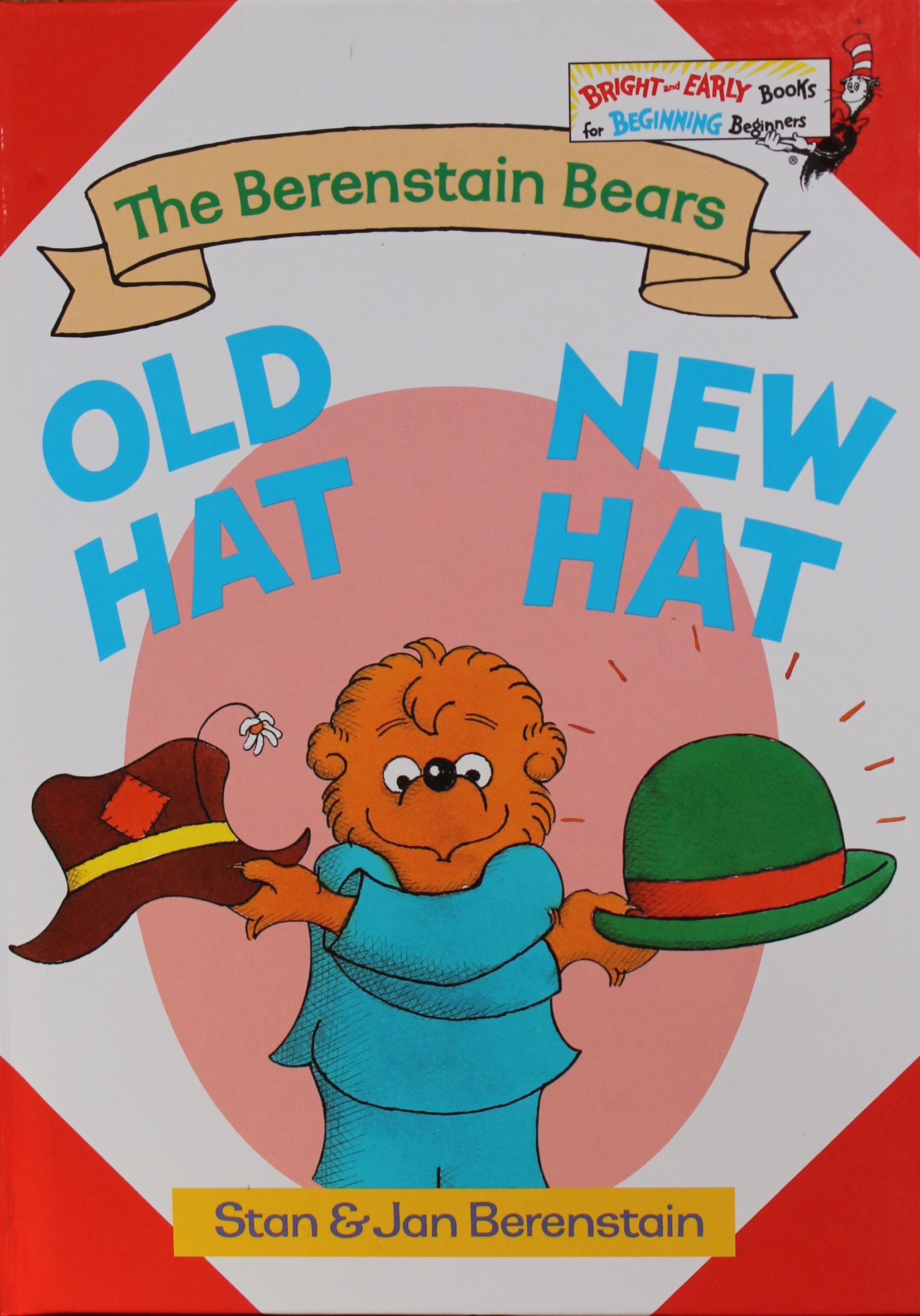 Berenstain Bears Old Hat New Hat Activities