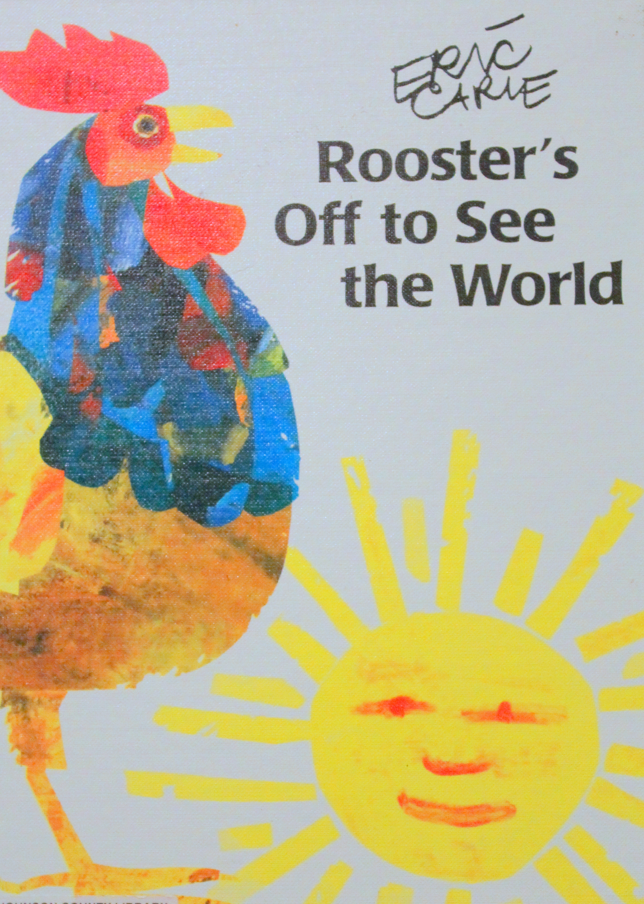 Rooster S Off To See The World Activities