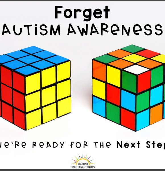 From Autism Awareness to Autism Acceptance