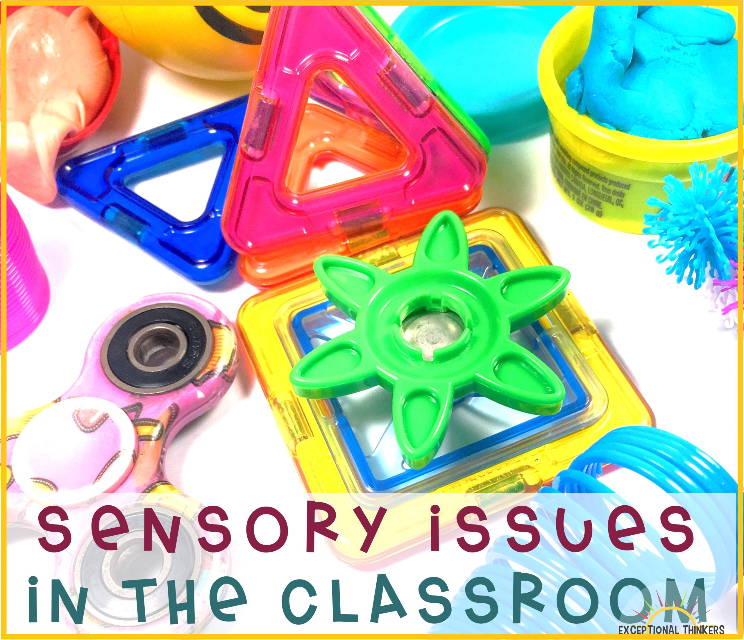 The Teacher's Guide to Accommodating Sensory Issues