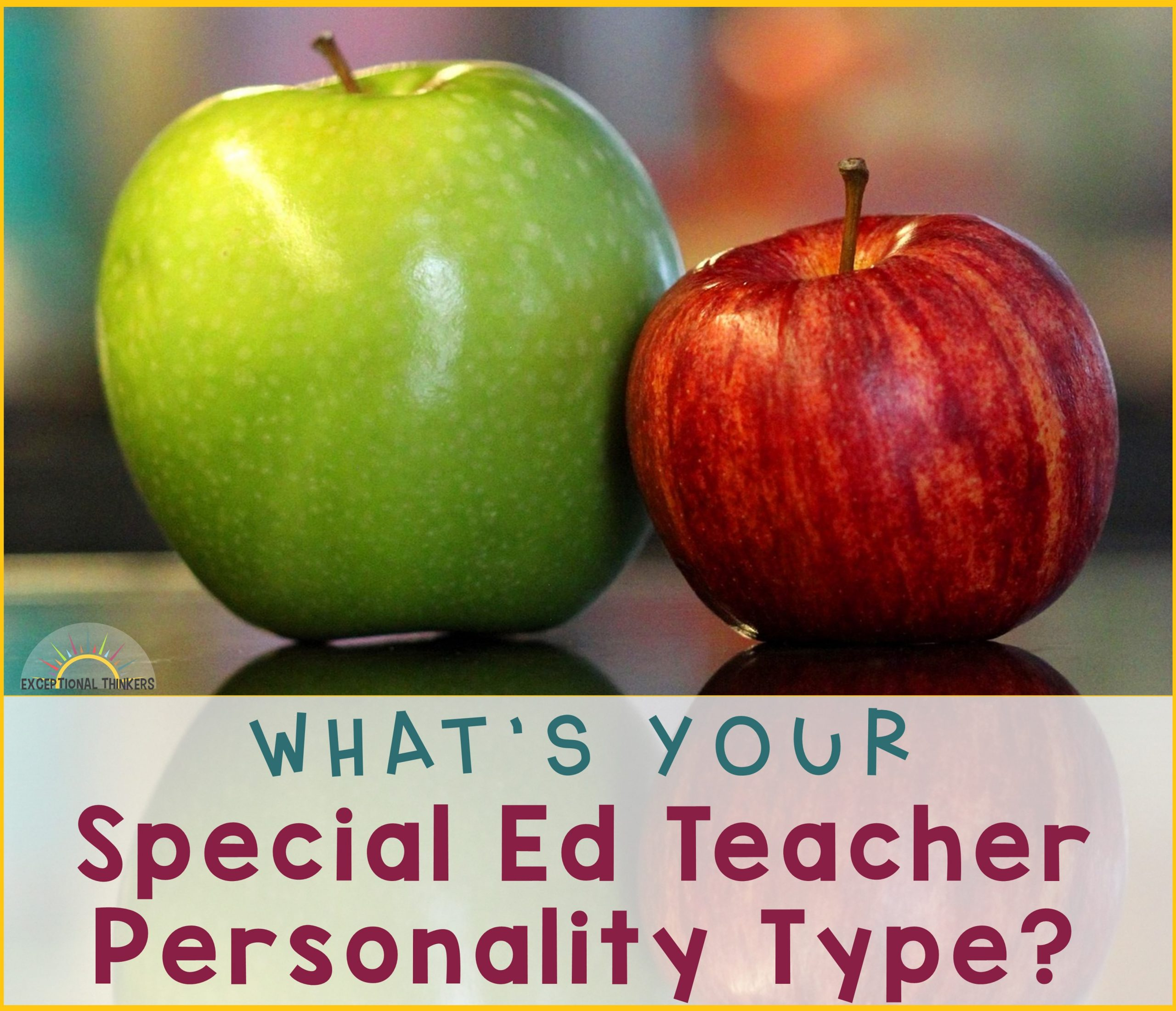What Type of Special Ed Teacher Are You?