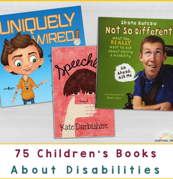 75 Books About Children with Disabilities
